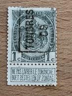 1345A Tongres 09  Voir Scan Pour état - Roller Precancels 1900-09