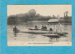L'Hydroplane Santos-Dumont. - Aviateurs