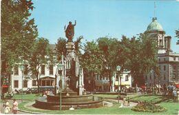 CPSM CANADA QUEBEC Monument De La Foi à La Place D'Armes - Québec - La Cité
