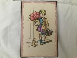 JDA Ou IDA 568, Enfant Fleurs Et Ours - Contemporain (à Partir De 1950)