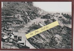 PHOTO - LE STRUTHOF. 67 - La Carrière Le 15 Mai 1942 .du Camp De Concentration Allemand  - Retirage En 15/10 Cm - Gefängnis & Insassen