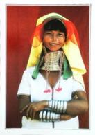 Birmanie    Loi Kaw   Femmes Girafe  Bijou   Années   80s - Myanmar (Burma)