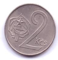 CZECHOSLOVAKIA 1990: 2 Koruny, KM 75 - Tchécoslovaquie