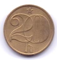 CZECHOSLOVAKIA 1988: 20 Haleru, KM 74 - Tchécoslovaquie
