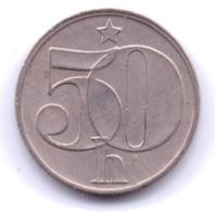 CZECHOSLOVAKIA 1987: 50 Haleru, KM 89 - Tchécoslovaquie
