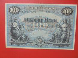 Bayerische Banknote 100 Mark 1 Januar 1900 Circuler Série B.N°17 - [ 2] 1871-1918 : Impero Tedesco