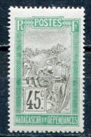 MAD - Yt. N° 105   *   45c    Cote  1,25  Euro  BE  2 Scans - Nuovi
