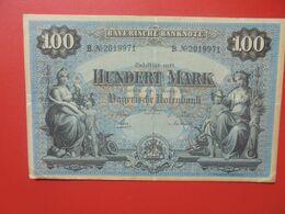 Bayerische Banknote 100 Mark 1 Januar 1900 Circuler Série B.N°20 - [ 2] 1871-1918 : Impero Tedesco
