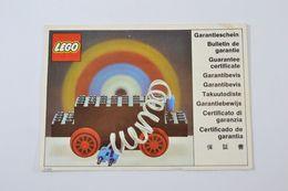 (AR6) Garantie De Moteur Lego - Lego