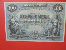 Bayerische Banknote 100 Mark 1 Januar 1900 Circuler Série B.N°21 - [ 2] 1871-1918 : Impero Tedesco