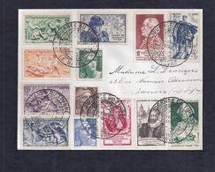 Enveloppe Locale Journee Du Timbre 1950 Le Havre Vignette - Francia