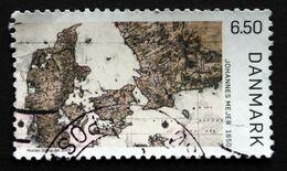 Denmark 2009  Old Denmark Map   MiNr.1535  (O)     ( Lot D 610 ) - Denemarken