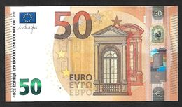 "New Issue! Greece  ""Y"" 50  EURO ! Draghi  Signature!! UNC  (from Bundle) ""Y"" Printer  Y003B2 !! - EURO"