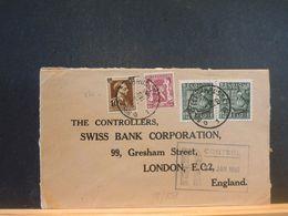 88/858 LETTRE BELGE POUR ENGLAND R CONTROL 1950 - Belgique
