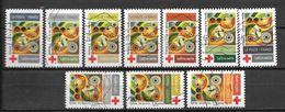 2020 - Croix Rouge -  Oblitéré - 1 - Adhésifs (autocollants)