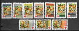 2020 - Croix Rouge -  Oblitéré - 3 - Adhésifs (autocollants)