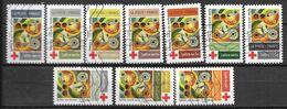 2020 - Croix Rouge -  Oblitéré - 5 - Adhésifs (autocollants)