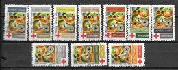2020 - Croix Rouge -  Oblitéré - 6 - Adhésifs (autocollants)