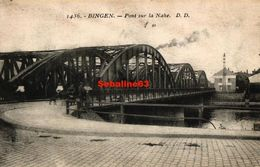 Bingen - Pont Sur La Nahe - 1924 - Bingen