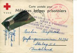 BASSE MEUSE / DALHEM / STALAG I A / CROIX ROUGE / PRISONNIER DE GUERRE / MILITAIRE / VISE - War 1939-45