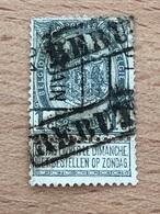 358B Louvain 01 Double Giffe Rebut Exemplaire Fort Plié Voir Scan - Roller Precancels 1900-09