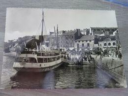 BELLE-ILE-en-MER - Le Guedel Dans Le Port De Palais - Editions Combier - Cim - Année 1965 - - Belle Ile En Mer