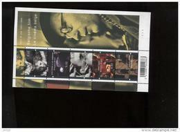 Belgie 2007 BL145 3678/82 Belgian Film  Plaatnummer 1 Onder Faciaal Cinema - Panes