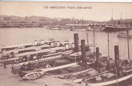 ESPAGNE BARCELONA Puerto Vista Partial ,le Port ,bateaux à Quai - Barcelona