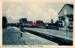 Epineuil-le-Fleuriel - Ecluse De La Queugne - 1942 - Altri Comuni