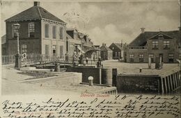 Stavoren // Sluis Zicht 1906 - Stavoren