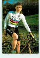 Danny DE BIE, Champion Du Monde . 2 Scans. Cyclisme. SEFB - Wielrennen