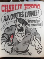 Charlie Hebdo Cabu Wolinski Reiser  N° 264 L'armée Démoralisée - Humour