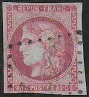 Bordeaux  N° 49  Oblitéré   - Cote : 320 € - 1870 Ausgabe Bordeaux