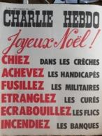 Charlie Hebdo Cabu Wolinski Reiser  N° 266 Joyeux Noel - Humour