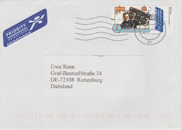 """Niederlande 2015. Grenzenlos """"Kid Freeze"""" Ca. 1984, Mi 3396, Einzelfrankatur Nach Deutschland - Lettres & Documents"""