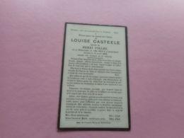 D.P.-LOUISE CASTEELE °WIJTSCHAETE 1-5-1859+13-4-1926 - Godsdienst & Esoterisme