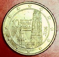 AUSTRIA - 2016 - Moneta - Cattedrale Di Santo Stefano Di Vienna - Euro - 0.10 - Austria