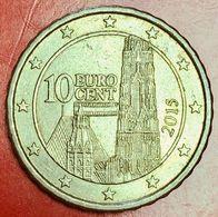 AUSTRIA - 2015 - Moneta - Cattedrale Di Santo Stefano Di Vienna - Euro - 0.10 - Autriche