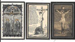 Gheel. 3 Oude Doodsprentjes. - Religion & Esotérisme
