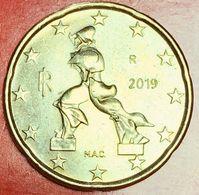 ITALIA - 2019 -  Moneta - Scultura Di Umberto Boccioni, Futurista - Euro - 0.20 - Italie