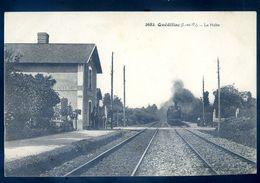 Cpa Du 35 Quédillac Gare -- La Halte    AVR20-178ter - Altri Comuni