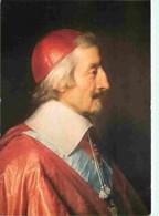 Histoire - Peinture - Portrait - Philippe De Champaigne - Portrait Du Cardinal De Richelieu - Carte Neuve - CPM - Voir S - Historia