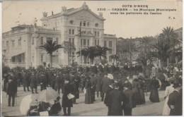 06 CANNES  Musique Municipale Sous Les Palmiers Du Casino - Cannes