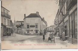 10 BAR-sur-AUBE  Rue Nationale  Et Rue St-Pierre - Bar-sur-Aube