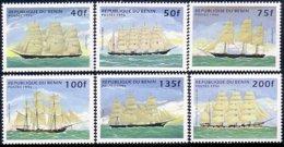 186 Benin Voiliers Sailing Ships MNH ** Neuf SC (BEN-14a) - Benin - Dahomey (1960-...)