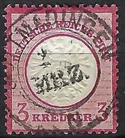 ALLEMAGNE 1872: Le Y&T 9, Obl. CAD - Gebruikt