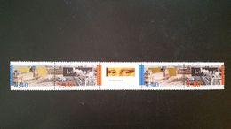 France Timbres Oblitérés N°2852B - Année 1993 - Bicentenaire De La Création Du Musée Du Louvre. La Bande De 2 Diptyques - Francia