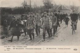 H3-  GUERRE 1914 - EN BELGIQUE - PRISONNIERS ALLEMANDS - (WW1  -  2 SCANS) - Guerre 1914-18