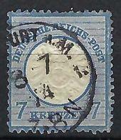 ALLEMAGNE 1872: Le Y&T 23 Obl. CAD - Gebruikt