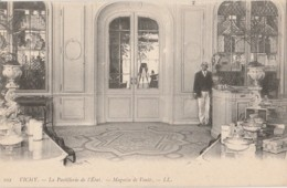 H6- 03) VICHY - PASTILLERIE DE L'ETAT -  MAGASIN DE VENTE -  (ANIMEE - 2 SCANS) - Vichy